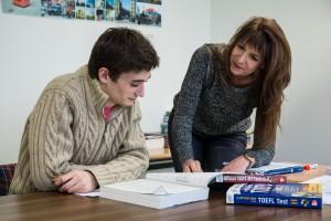 Prépa Test TOEFL avec lycéen