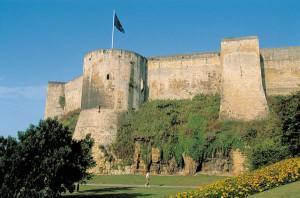 Immersion en anglais au chateau de Caen